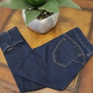 Blue Asphalt Dark Skinny Jeans